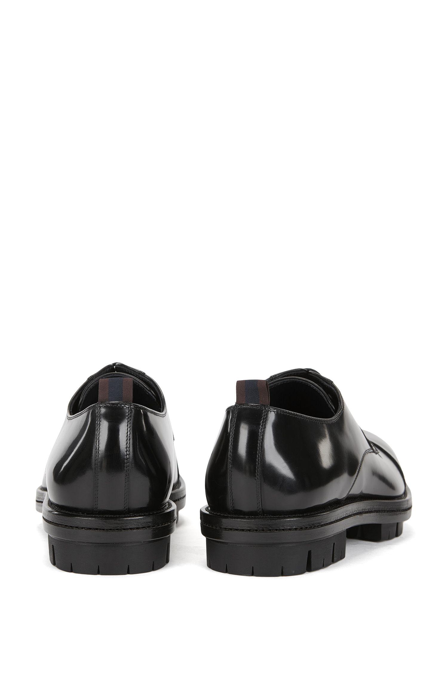 Patent Leather Shoe | Twist Derb Ct, Black