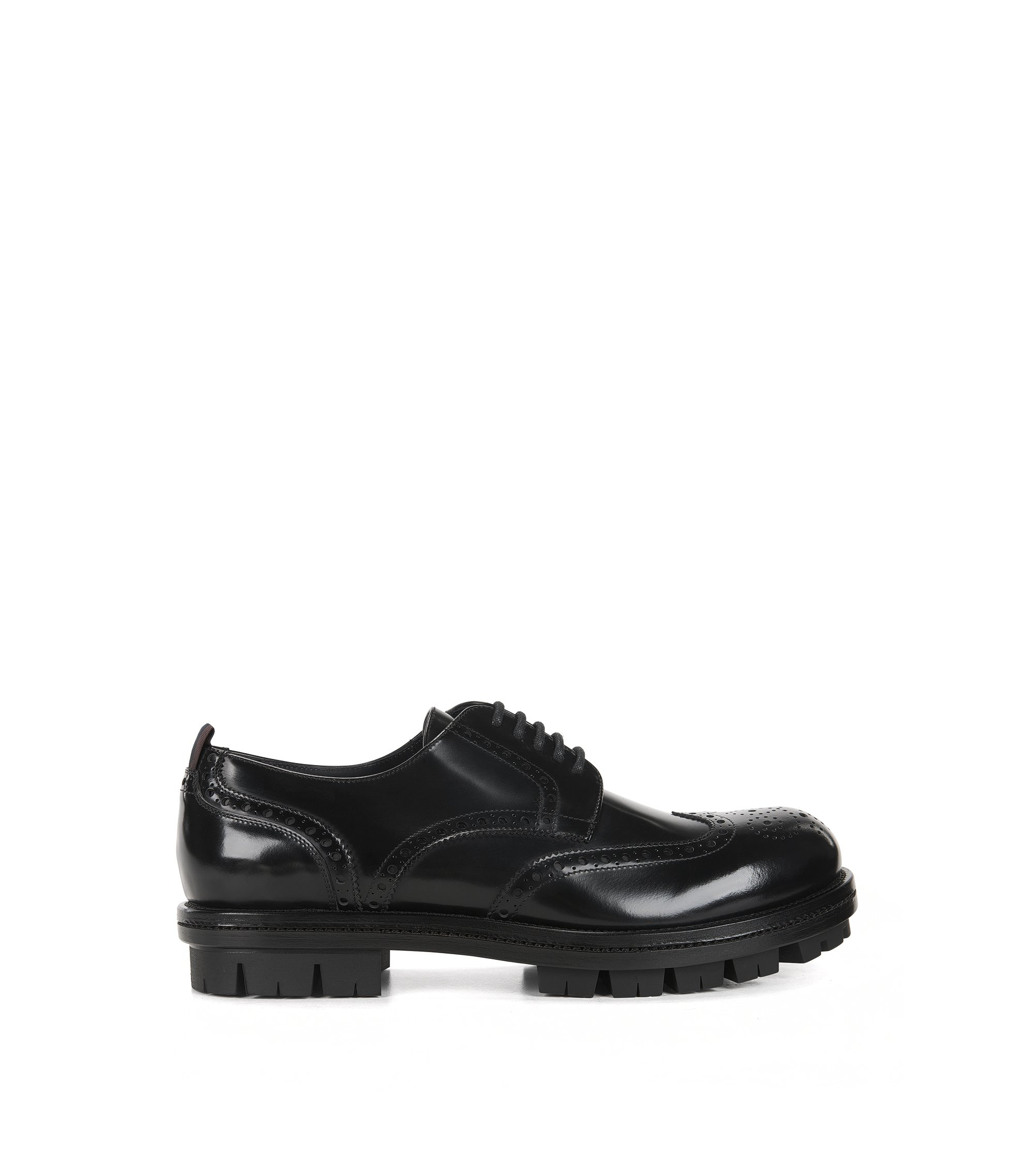 Chunky Derby Shoe | Twist Derb Wtb, Black