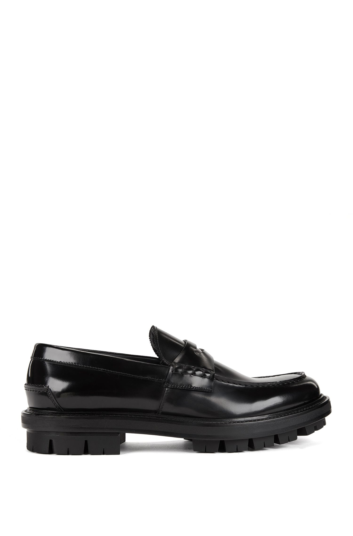 Leather Penny Loafer | Twist Mocc pe