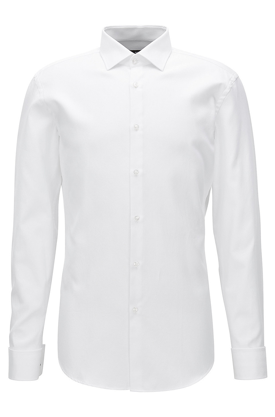 a7dc9c0a BOSS - Geometric French Cuff Cotton Dress Shirt, Slim Fit | Jacques