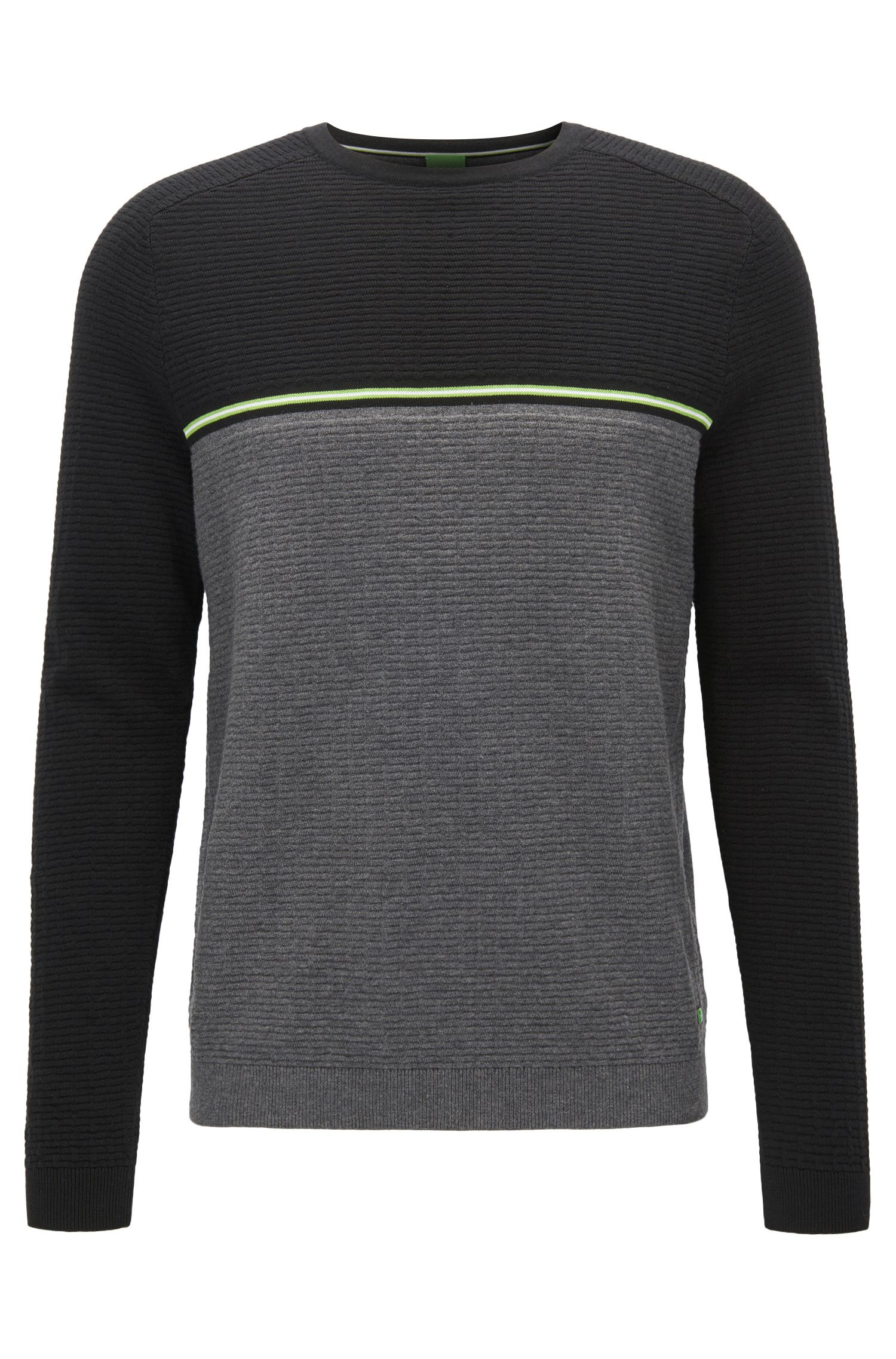Stretch Cotton Wool Sweater | Rafa