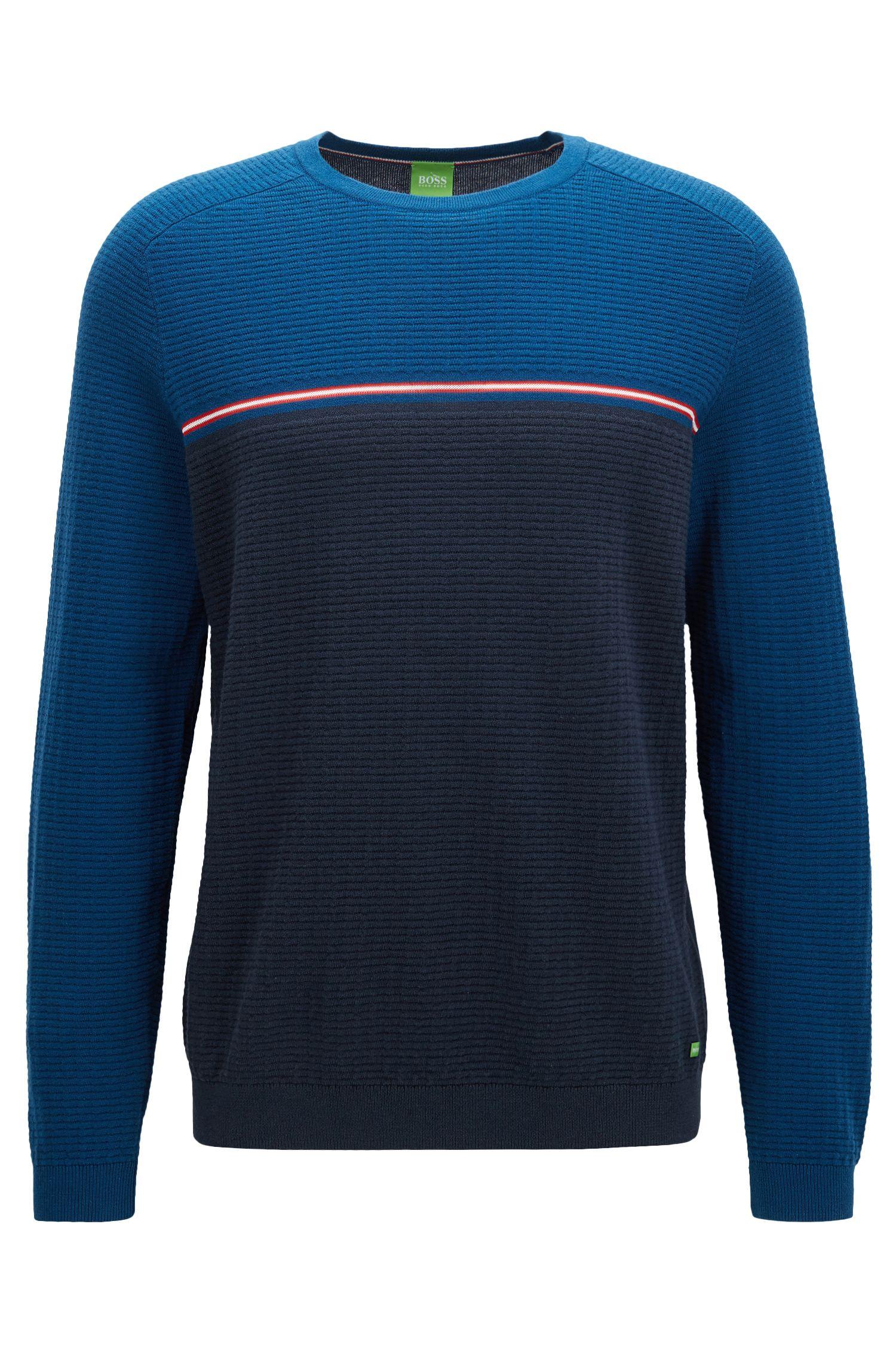 Stretch Cotton Wool Sweater   Rafa