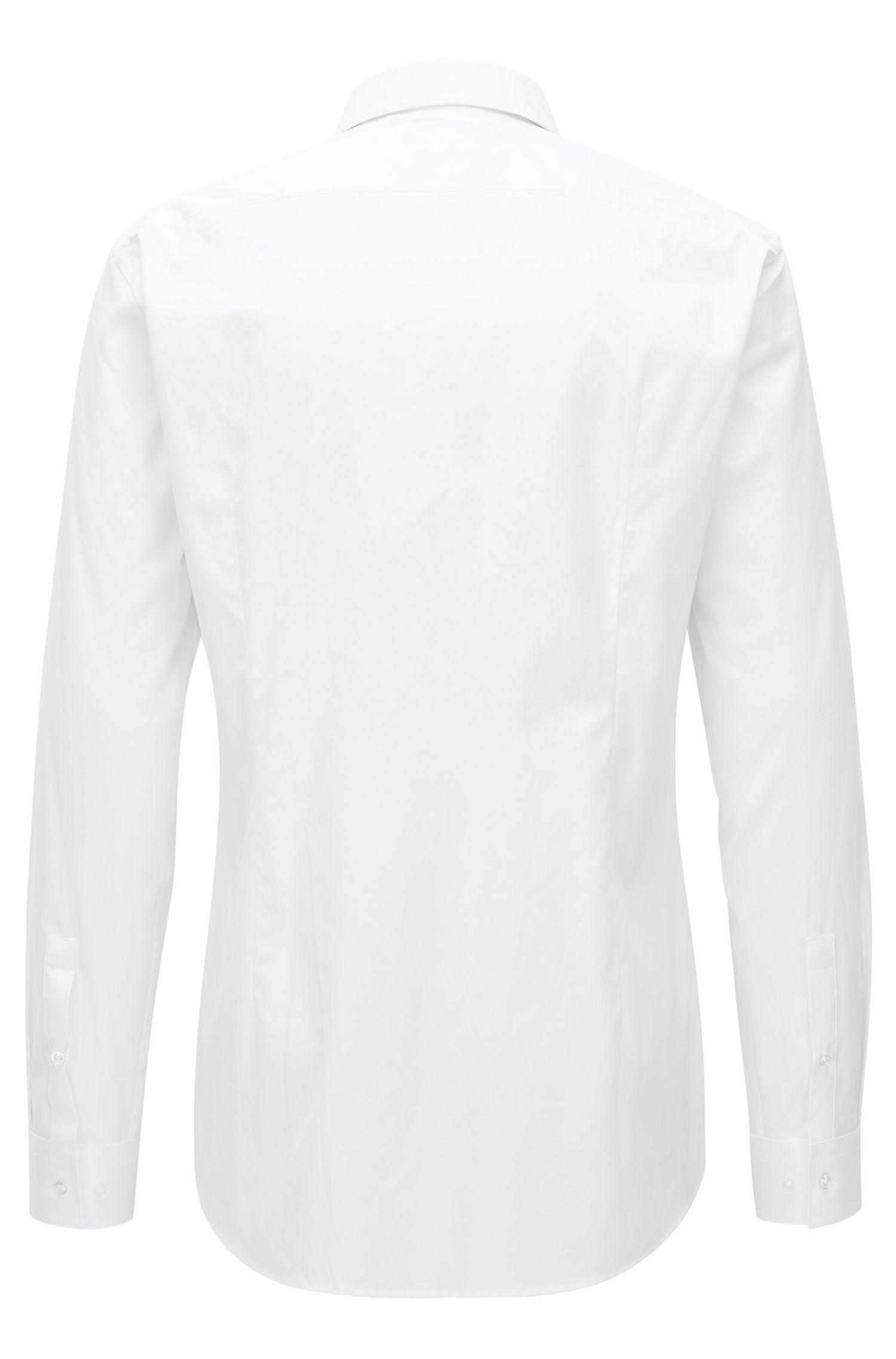 Cotton Dress Shirt, Slim Fit   Jeff