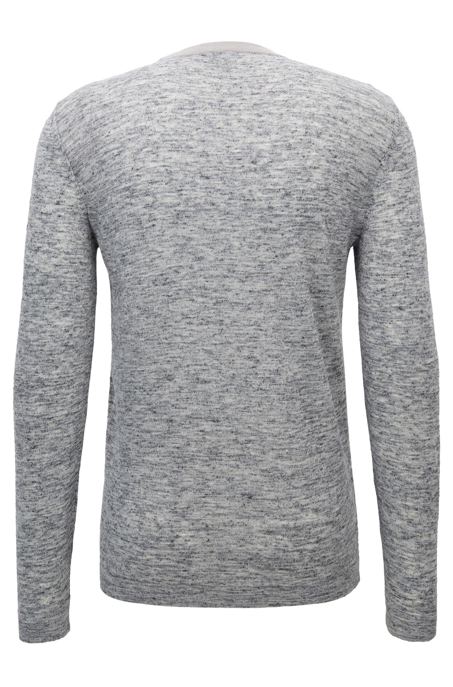Melange Stretch Virgin Wool Blend Sweater | Renny