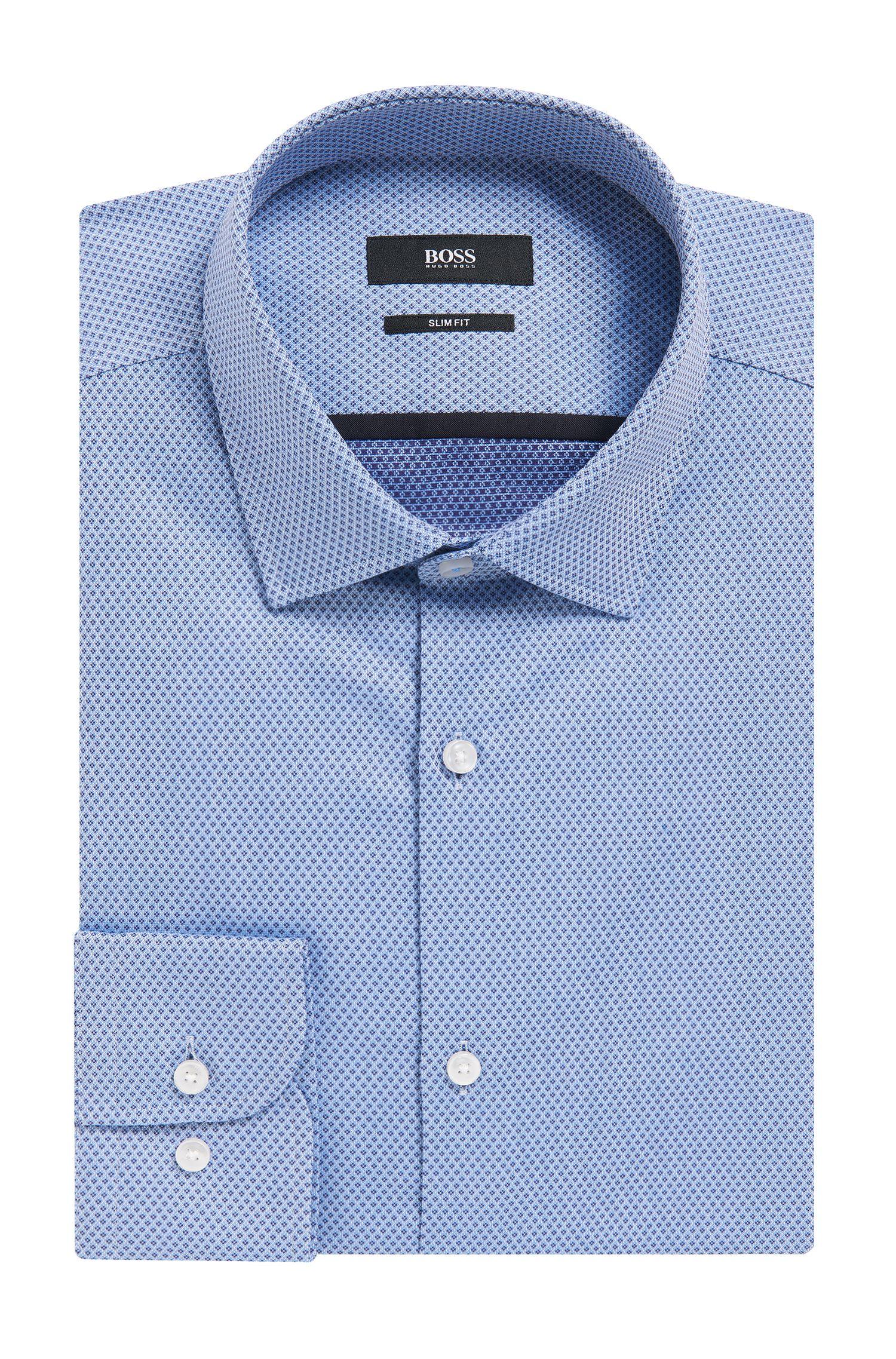 Cotton Dress Shirt, Slim Fit | Jerrin