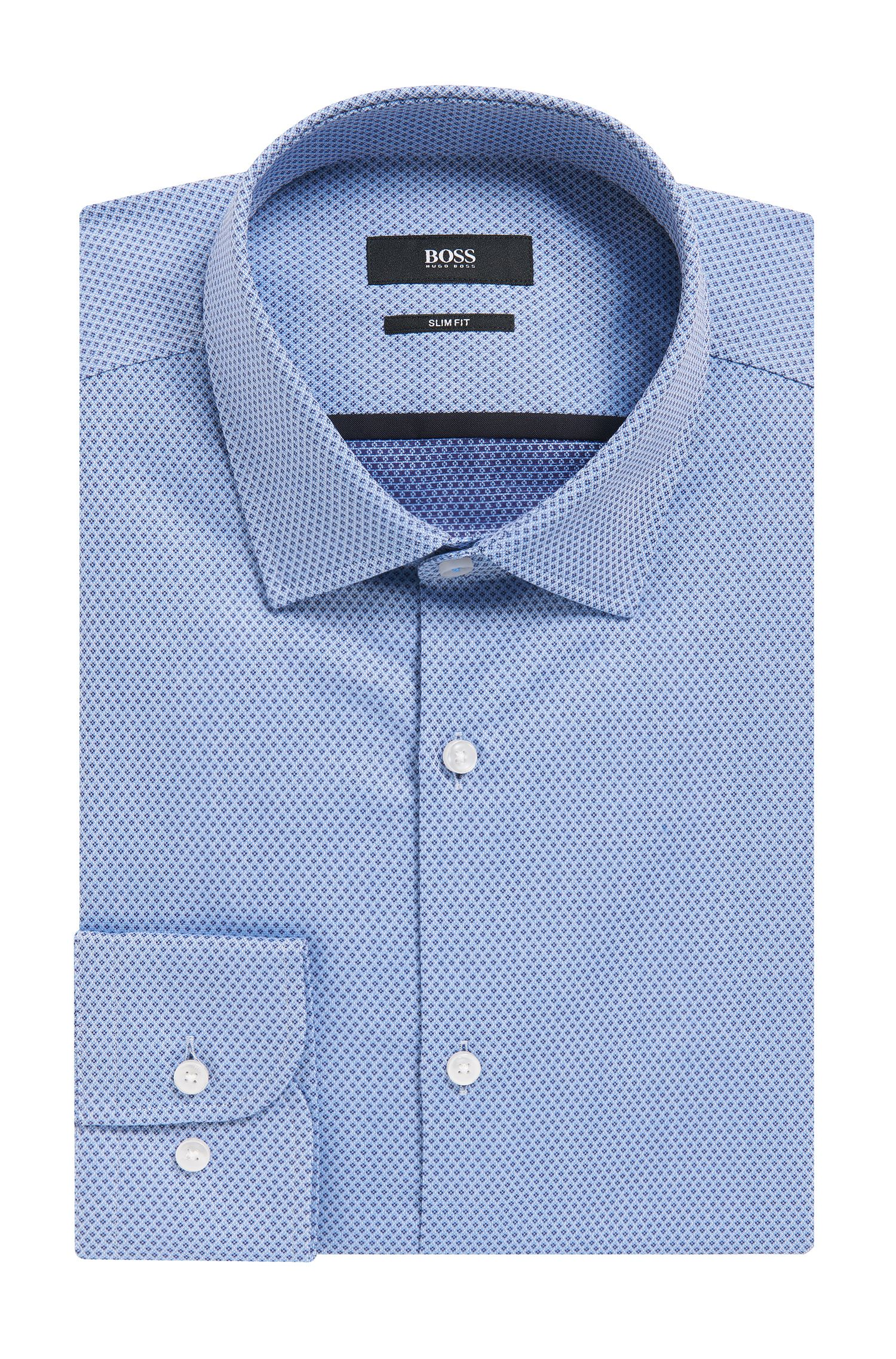 Cotton Dress Shirt, Slim Fit | Jerrin