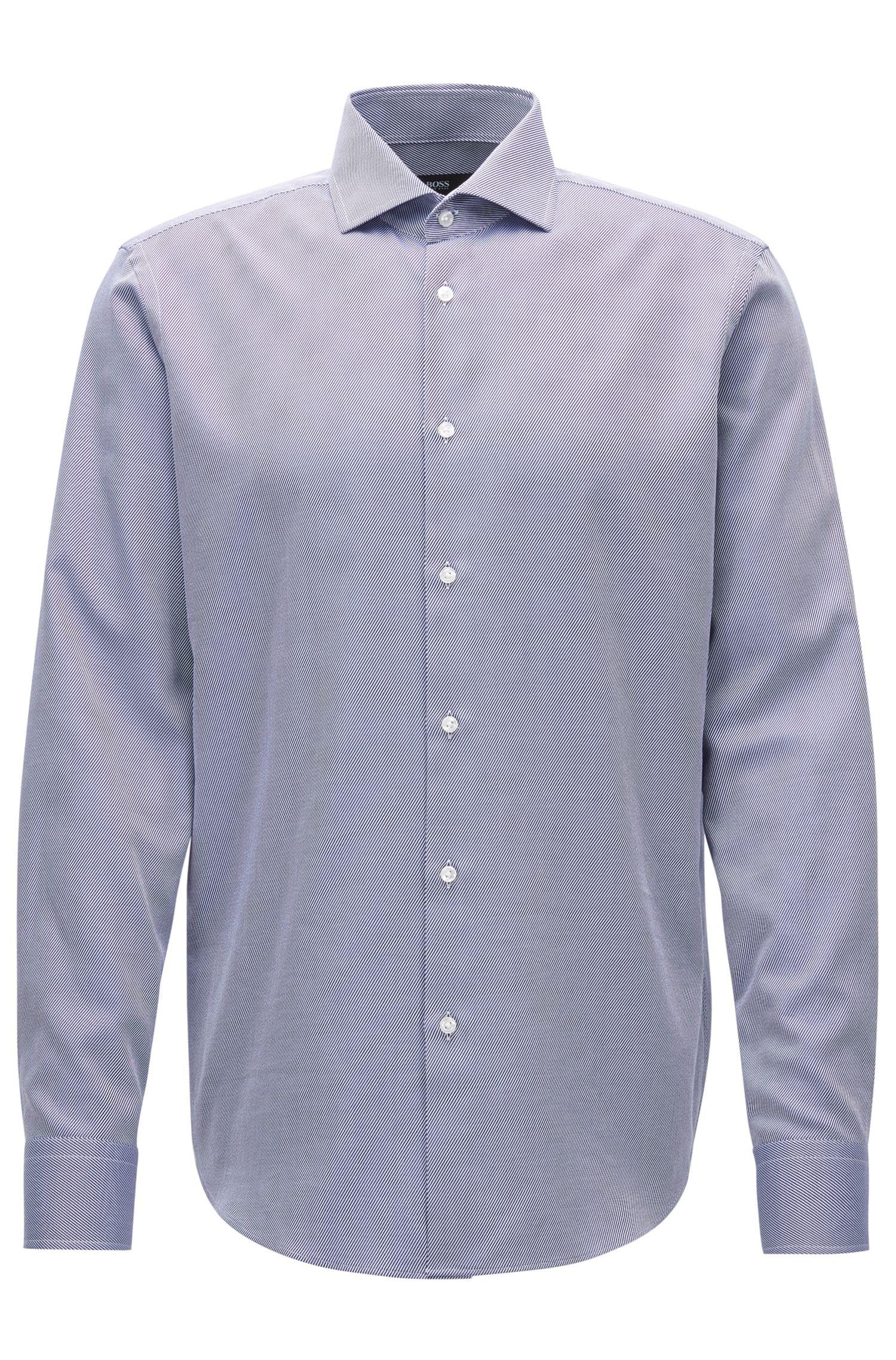 'Gordon' | Regular Fit, Cotton Twill Dress Shirt