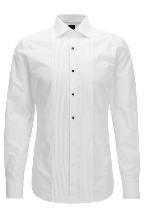 Boss 2 ply egyptian cotton dress shirt slim fit t cameron for 100 egyptian cotton shirts