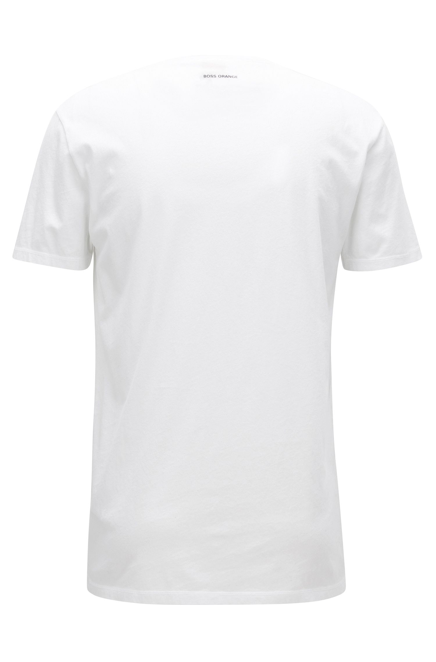 Cotton Graphic T-Shirt | Taboo, White