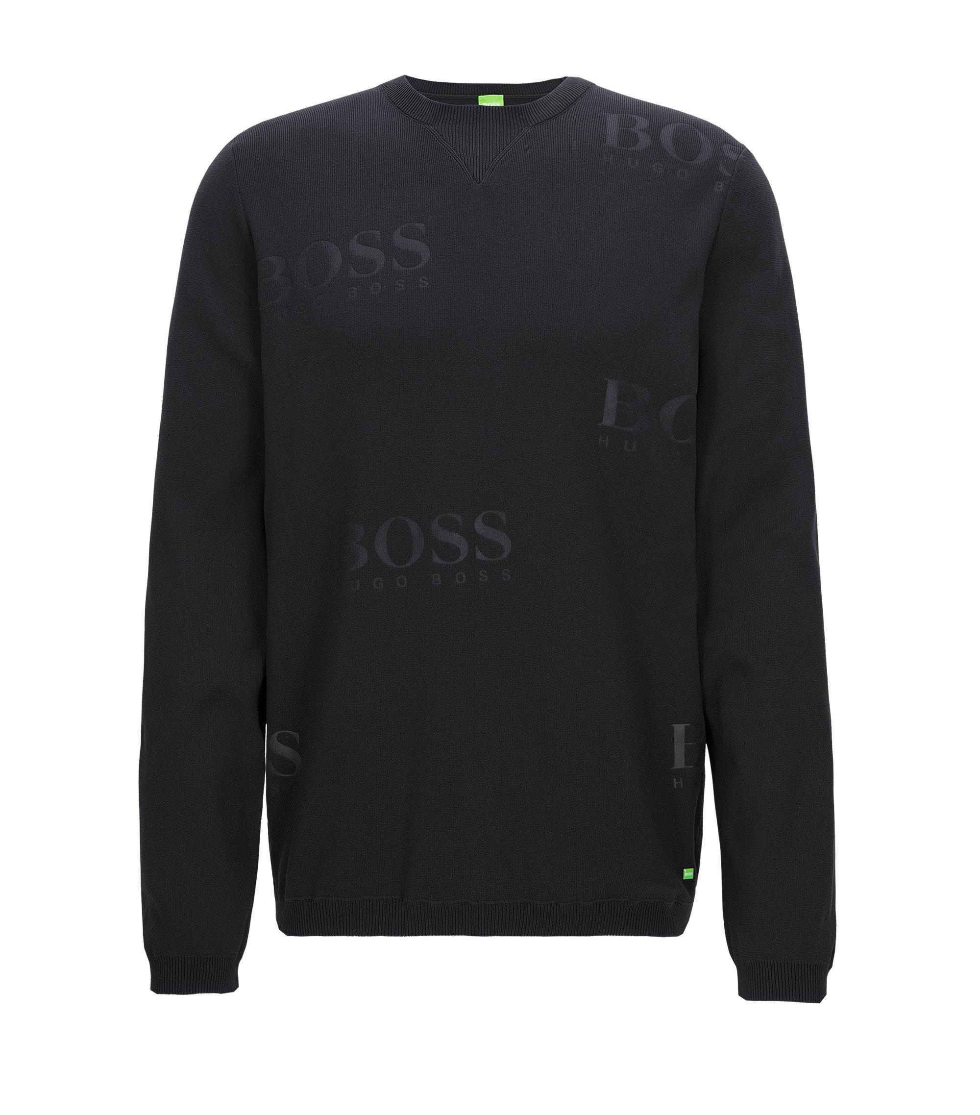 Debossed Sweater | Rhett, Black