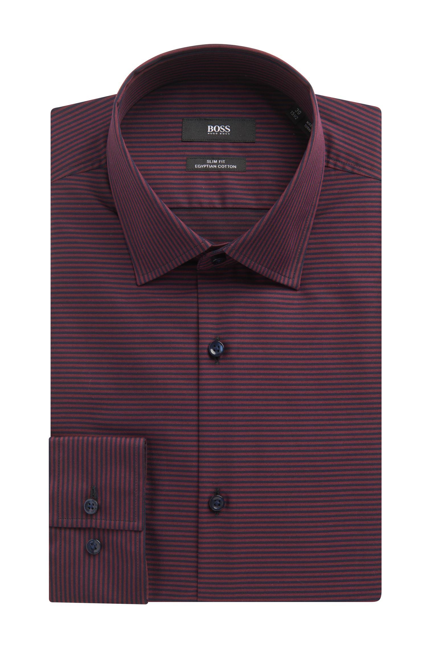Cotton Dress Shirt, Slim Fit | Jamar