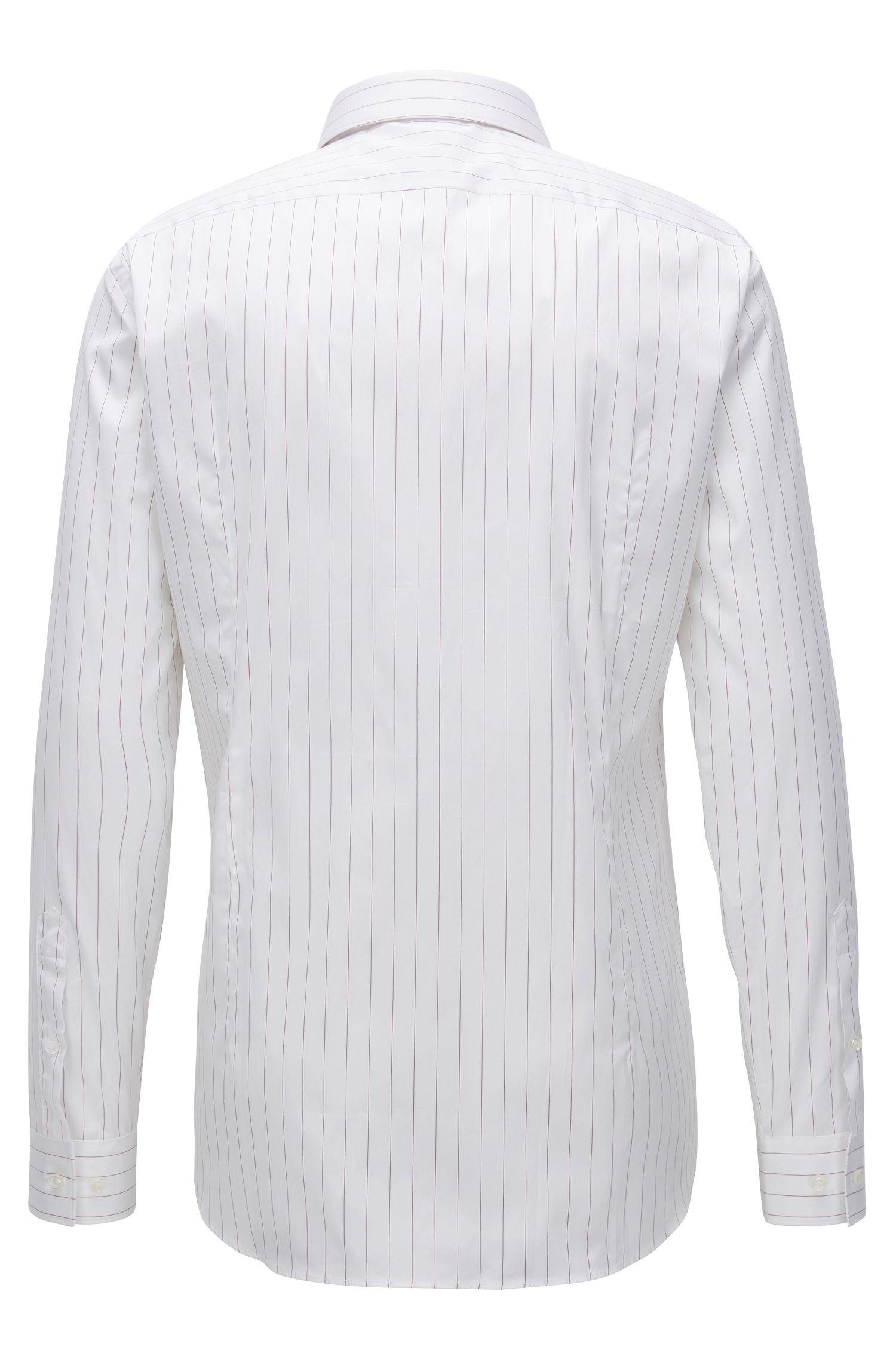 Striped Dress Shirt, Slim Fit | T-Charlie
