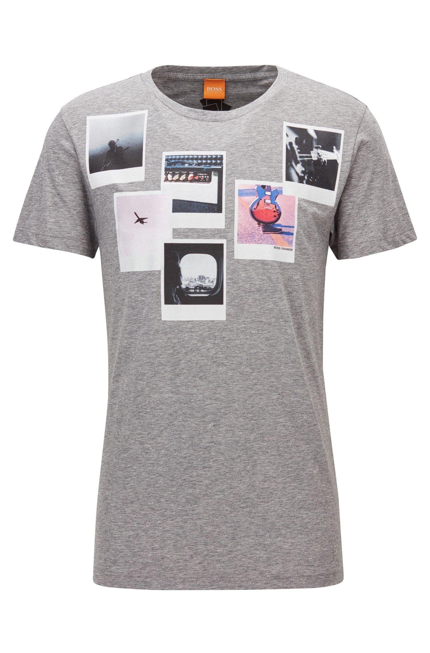 Pima Cotton Graphic T-Shirt | Taxable
