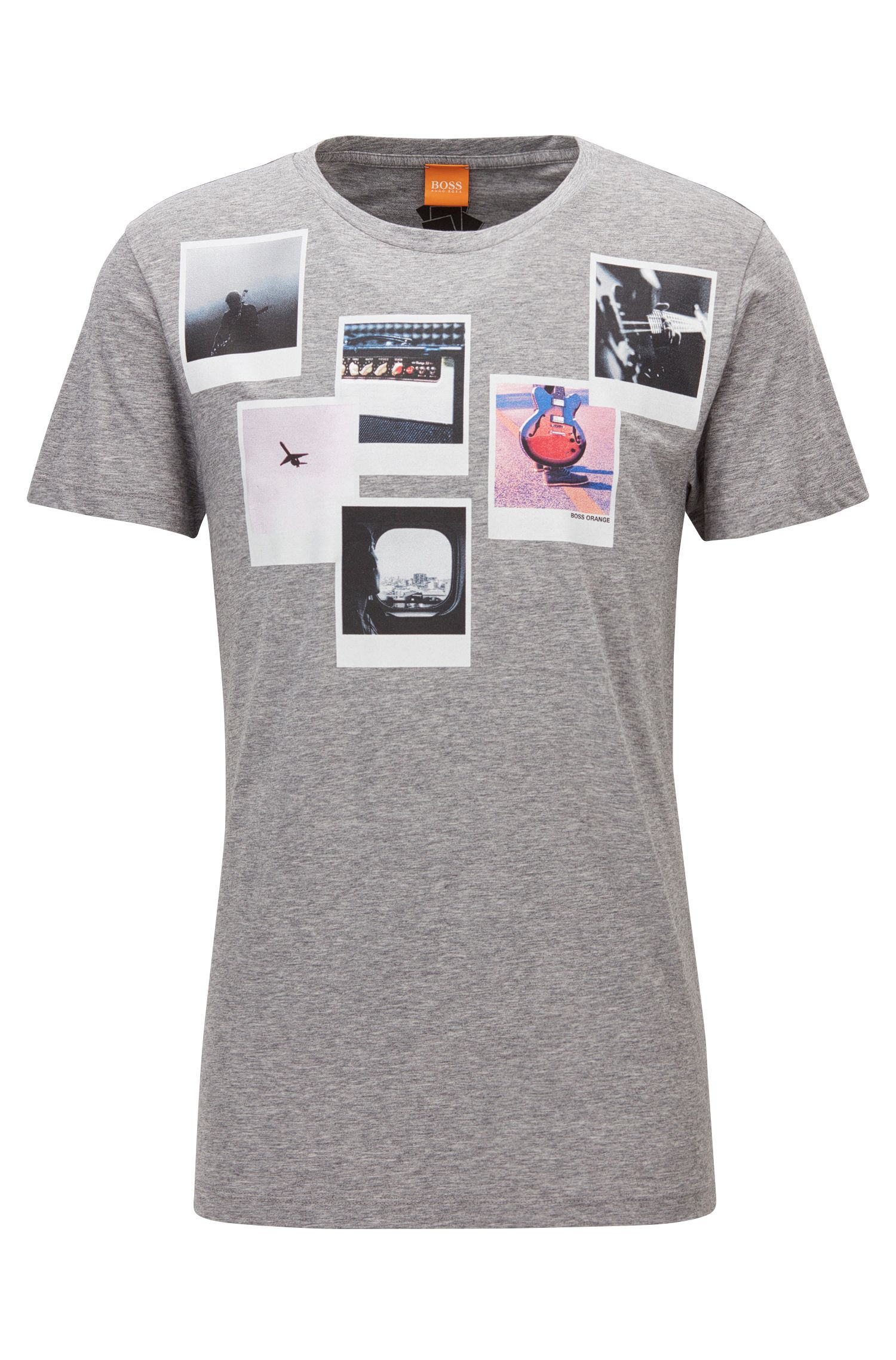 Pima Cotton Graphic T-Shirt | Taxable