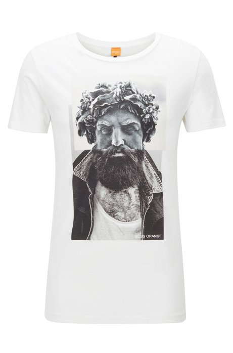 abd1e206b BOSS - Pima Cotton Graphic T-Shirt | Taxable