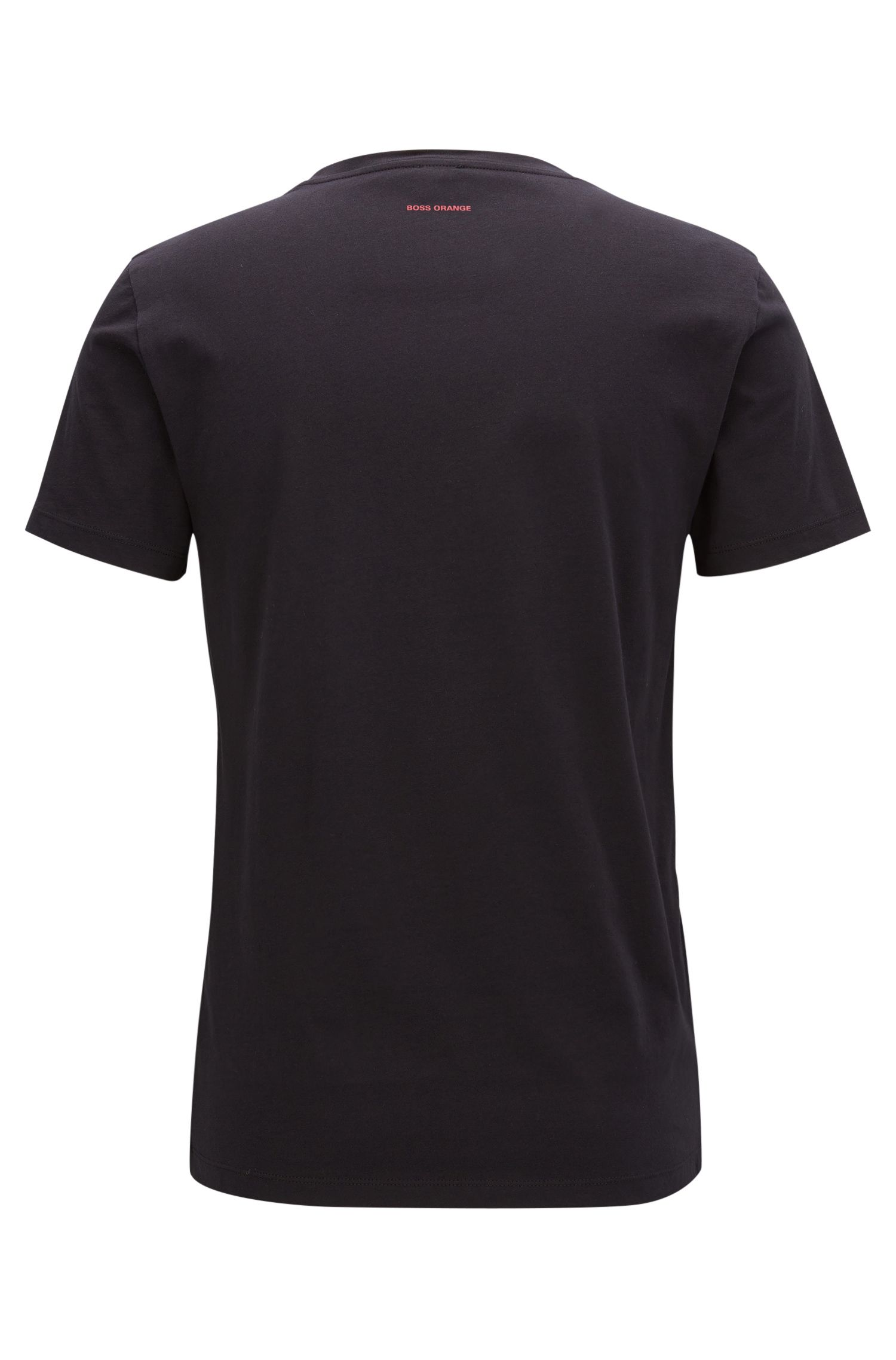 Cotton Graphic T-Shirt | Typical, Black