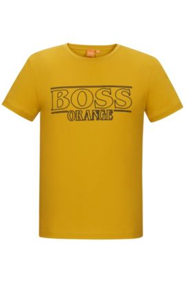 Cotton Graphic T-Shirt | Typical, Yellow