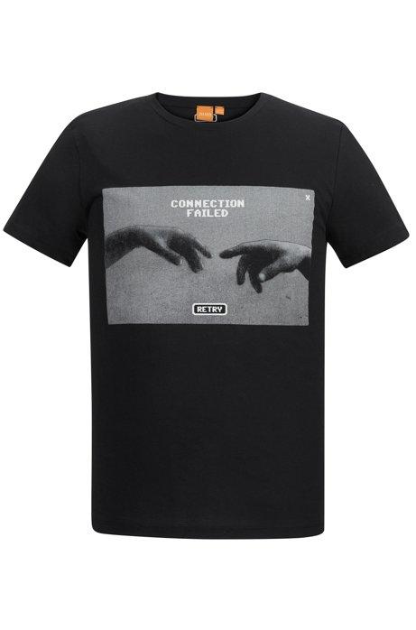 2c0d6f595c0 Cotton Graphic T-Shirt | Typical, Black