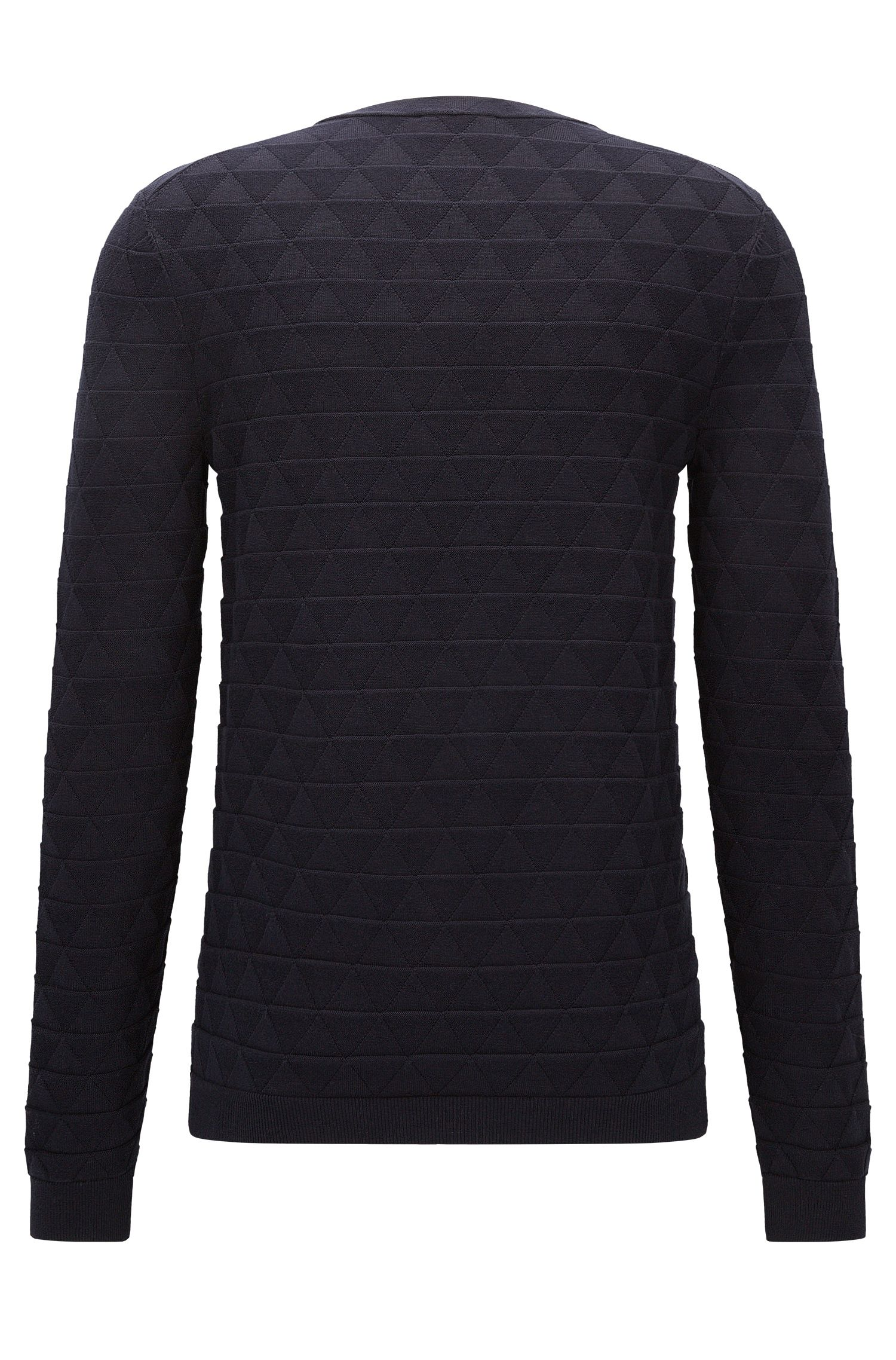 Triangle Knit Sweater | Sebastio