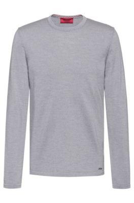 d3e5ac1253d Crew-neck sweater in Merino wool