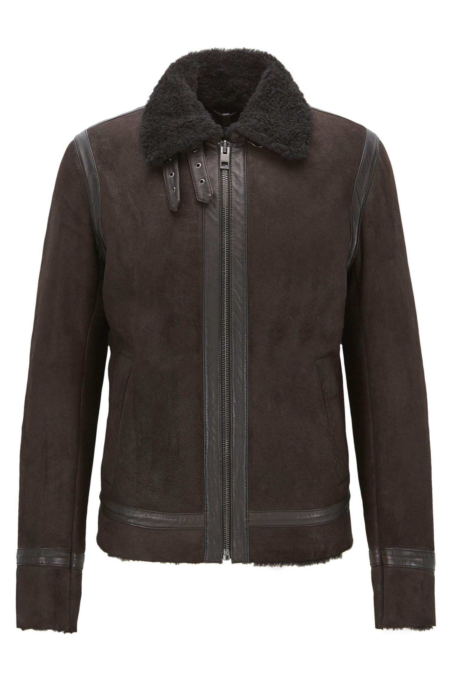 Shearling Suede Jacket | Jearling