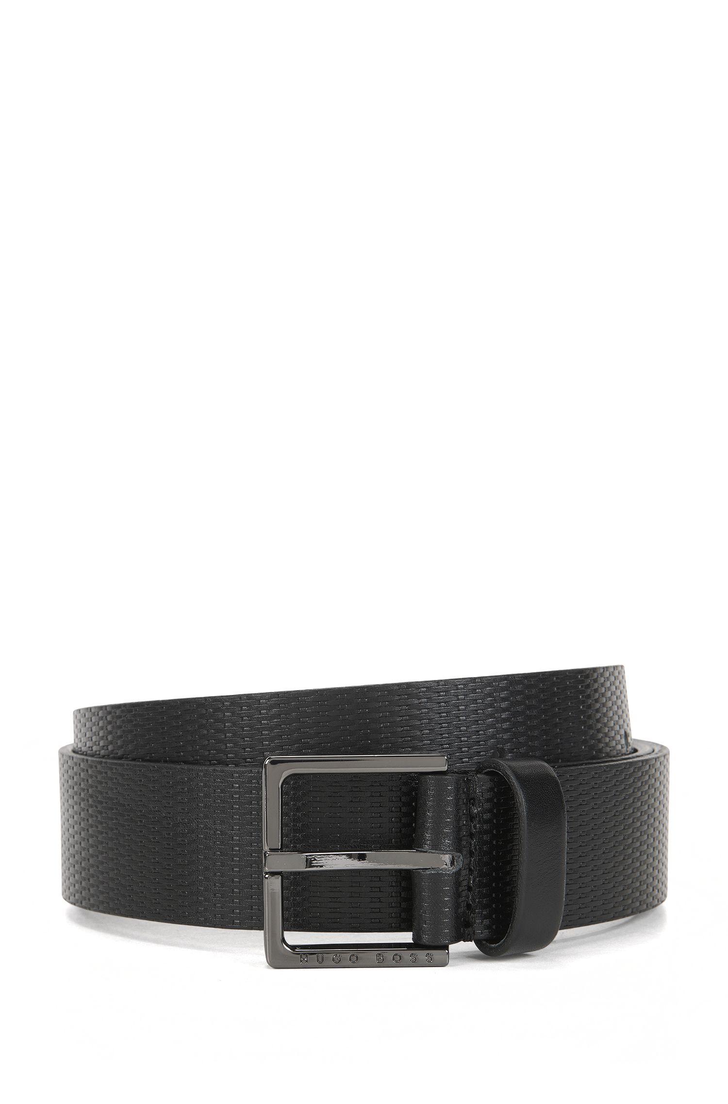 Embossed Leather Belt | Cermes