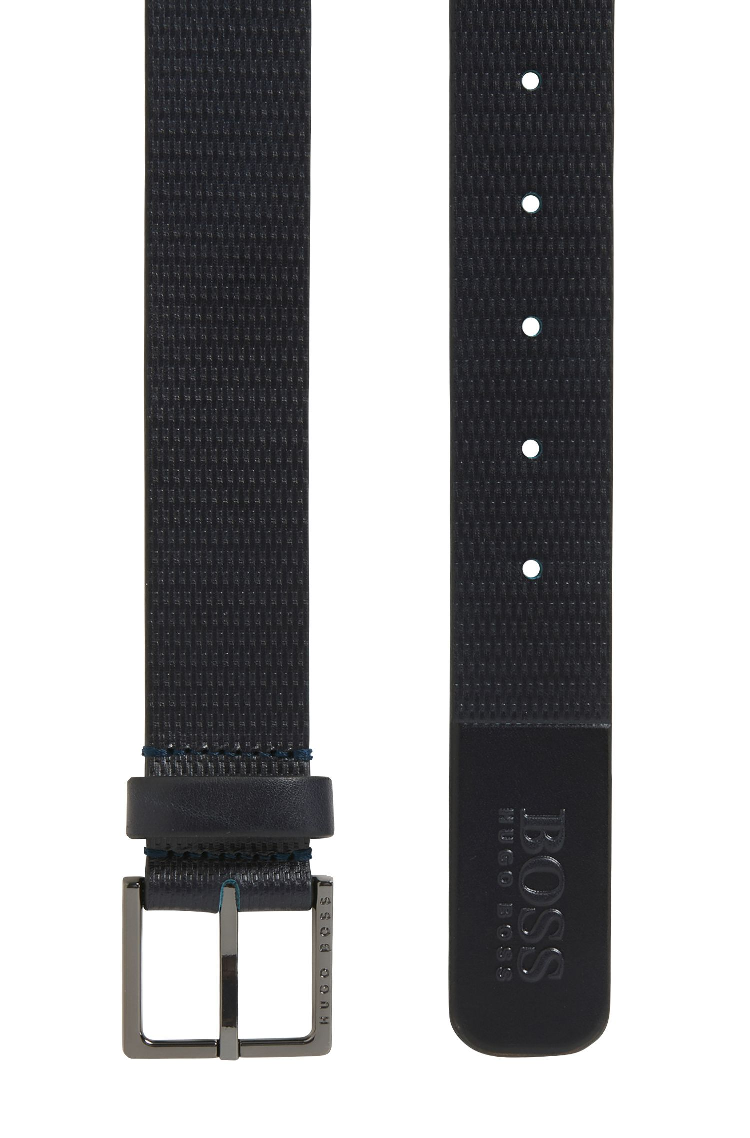 Embossed Leather Belt | Cermes