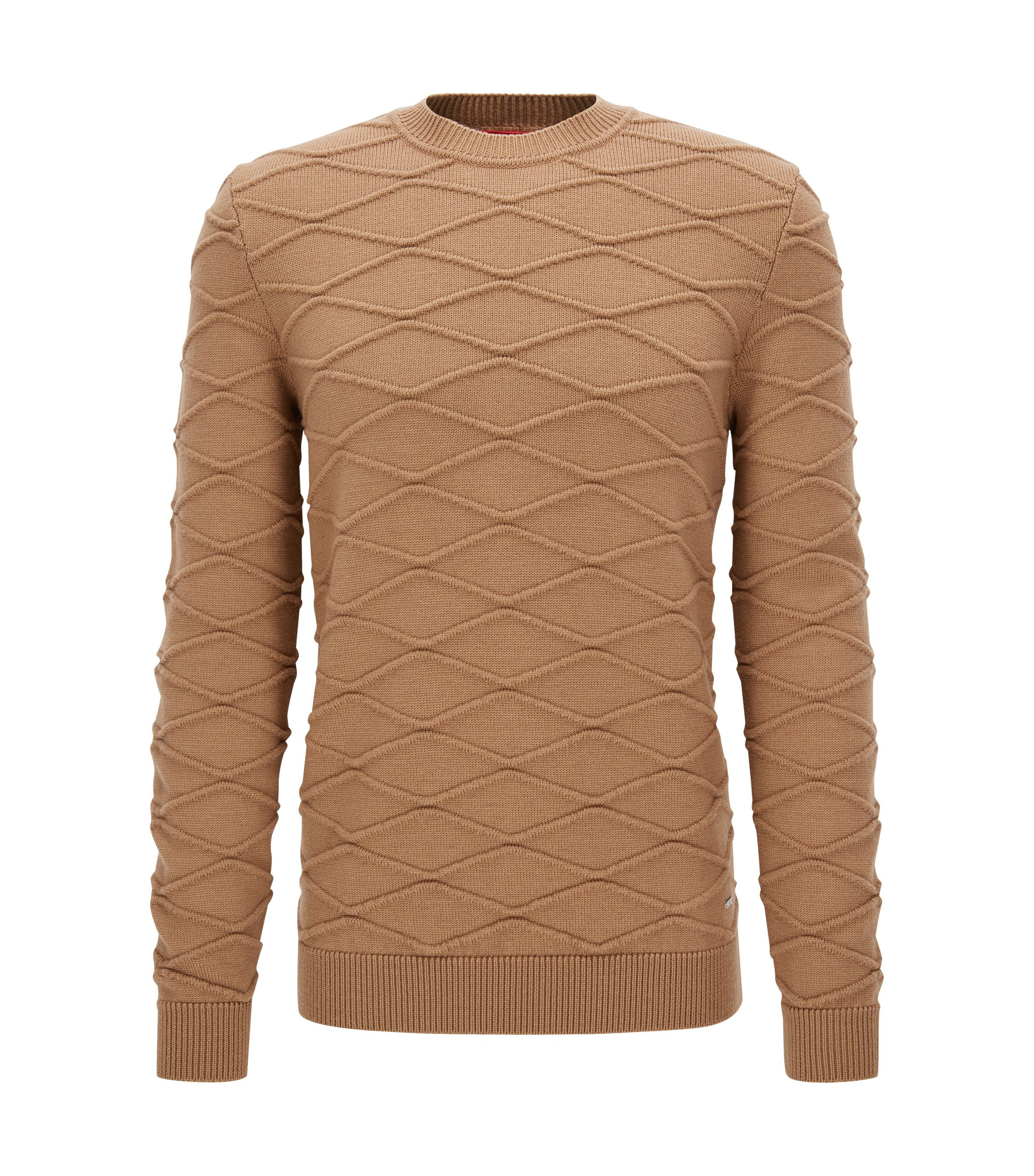 Virgin Wool Sweater | Svave, Brown