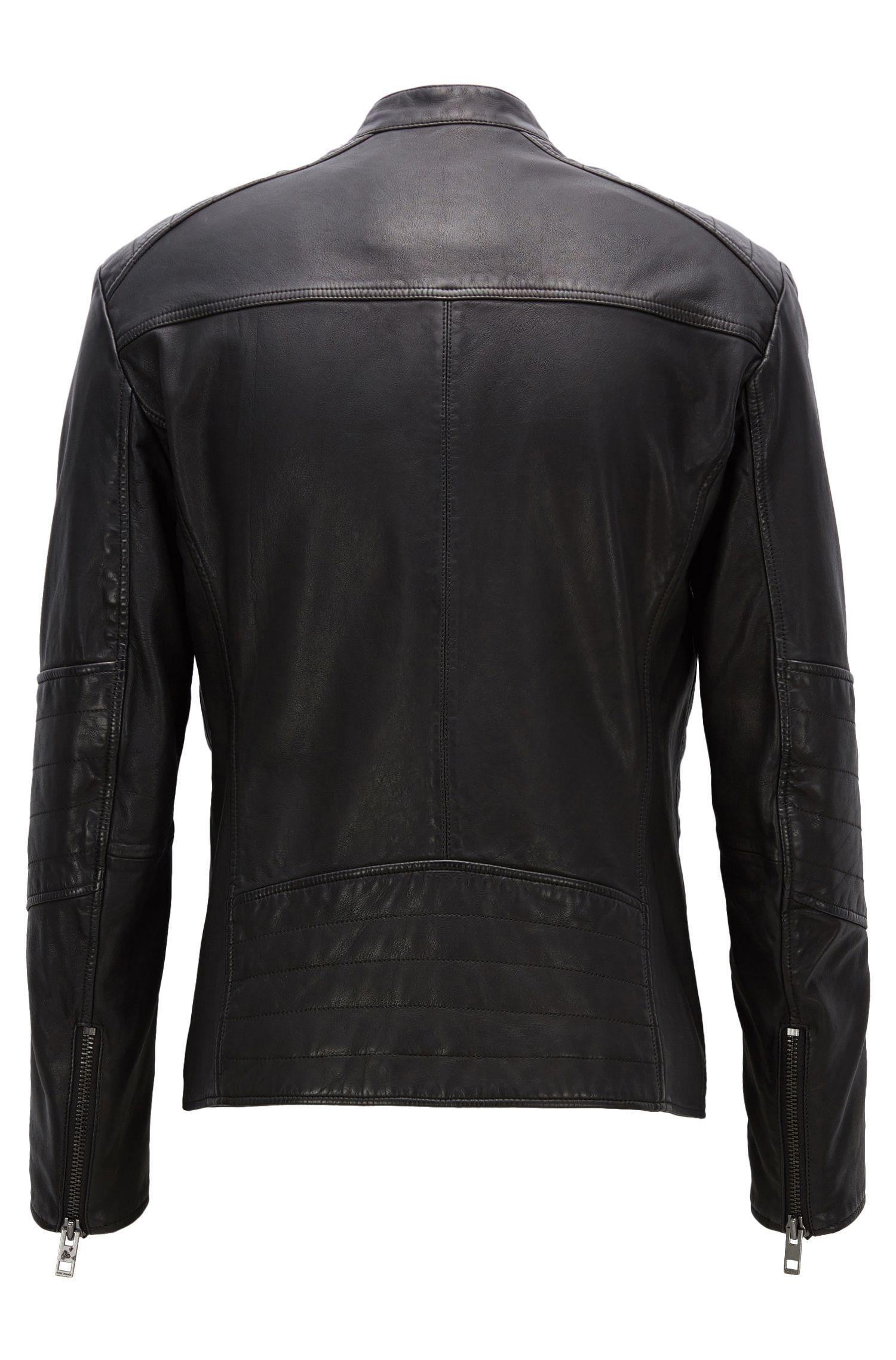 Sheepskin Biker Jacket | Jeeper
