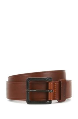 'Jordan Sz Ltpl' | Leather Belt, Brown