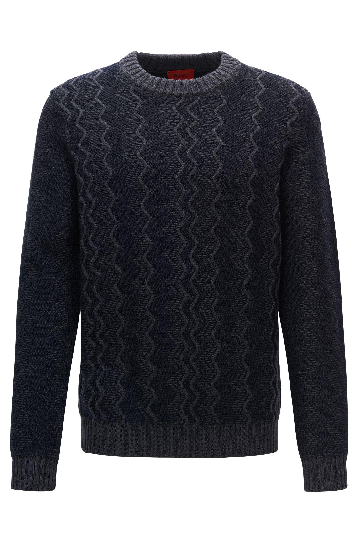 Zig Zag Virgin Wool Sweater   Sigsag
