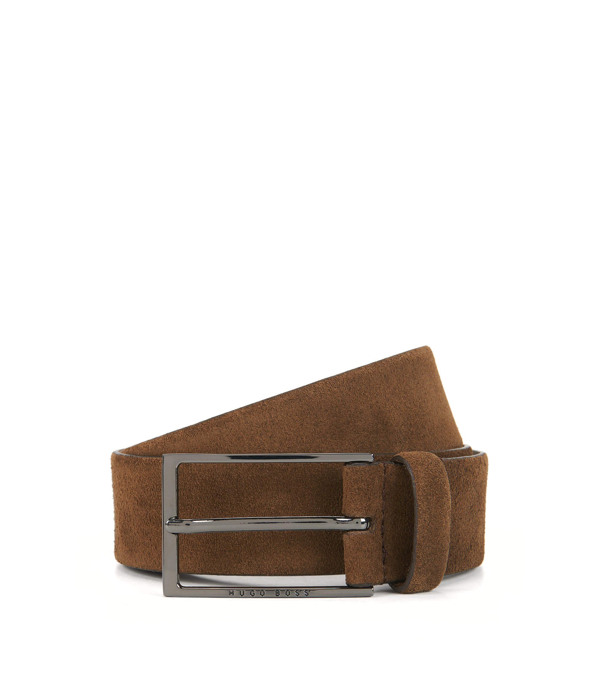 Suede Belt | Calindo Sz Sd, Brown