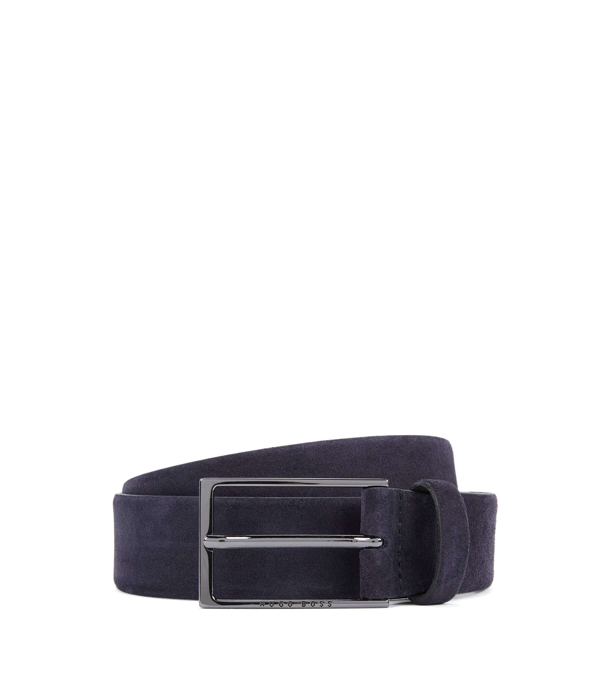 Suede Belt | Calindo Sz Sd, Dark Blue