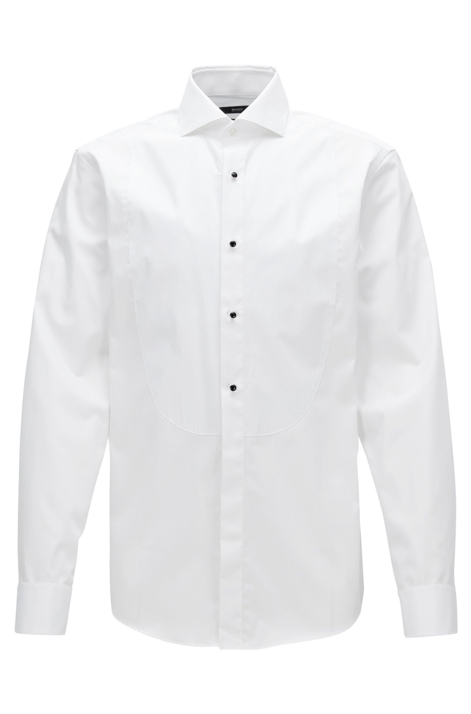 Easy Iron Cotton Tuxedo Shirt, Regular Fit | Grant