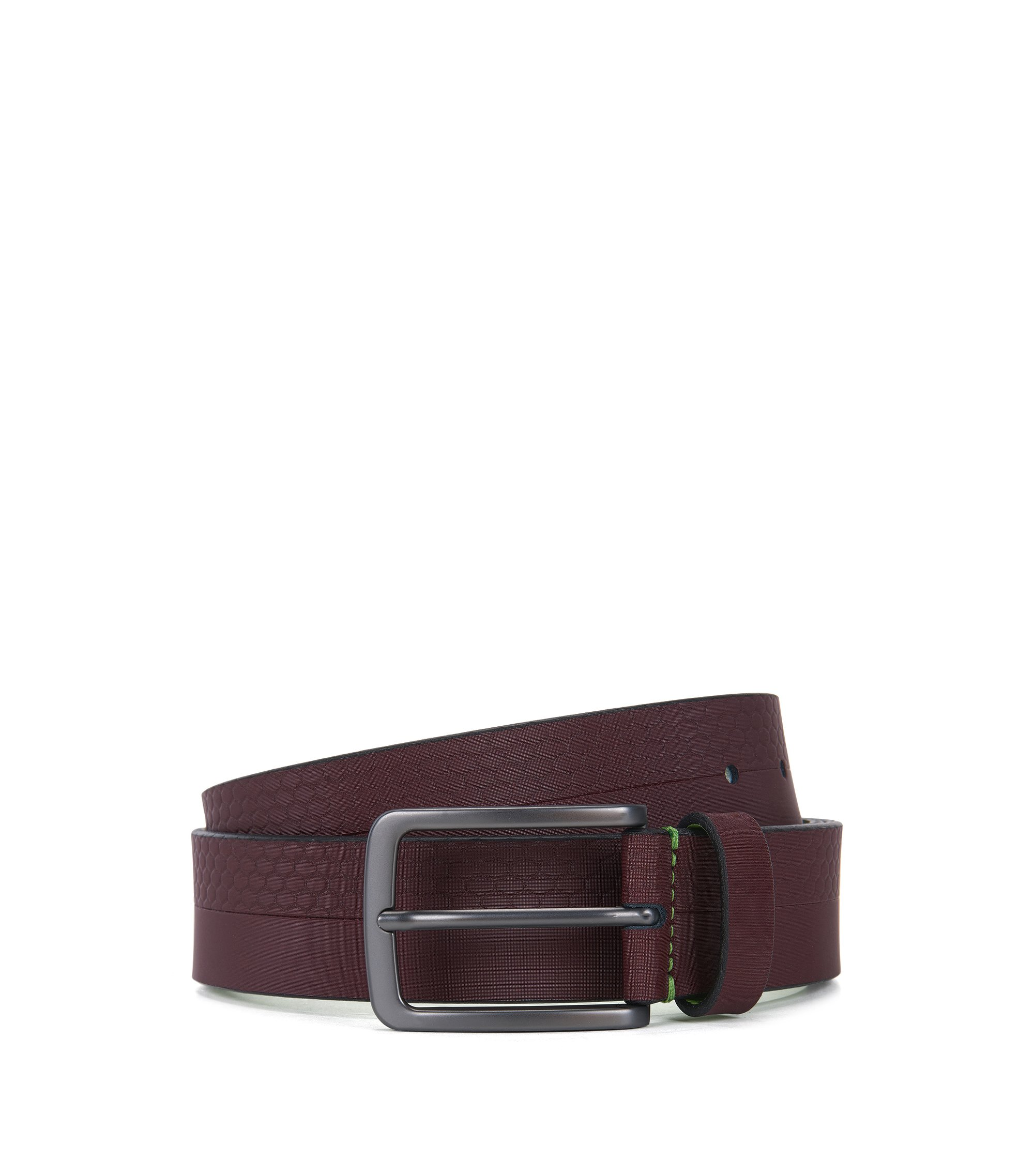 Leather Belt | Tali Sz Item, Red