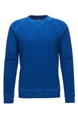 'Welan' | Cotton Sweatshirt , Blue