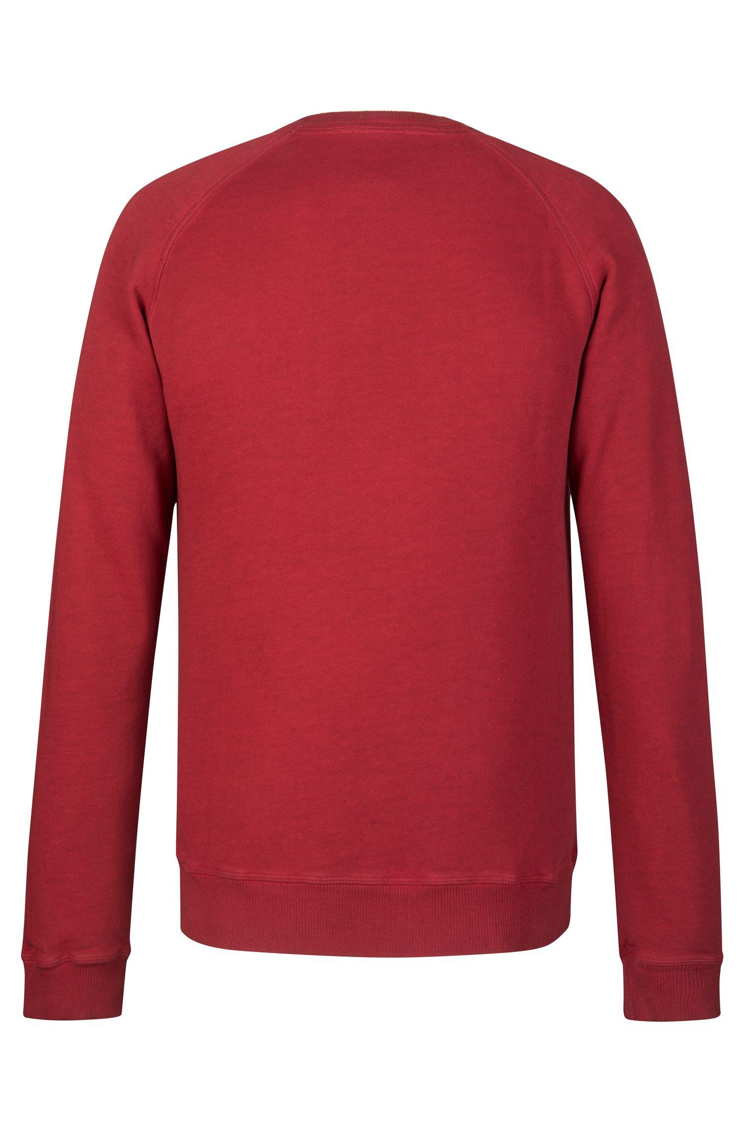Cotton Sweatshirt  | Welan, Red