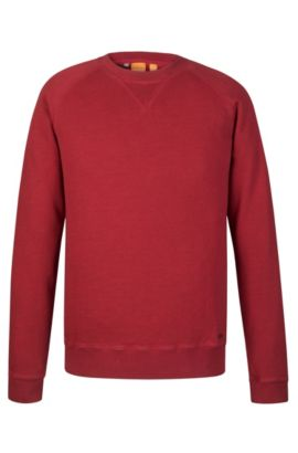 Cotton Sweatshirt  | Welan, Red
