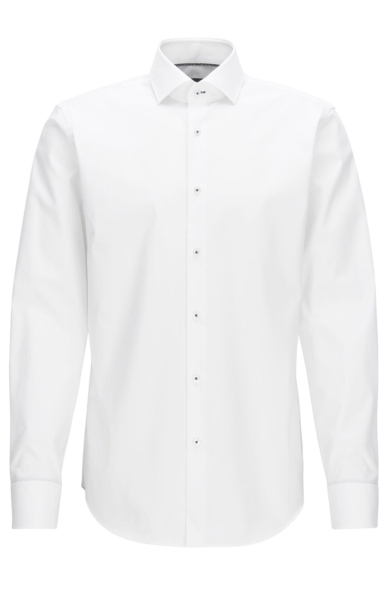Easy-Iron Cotton Dress Shirt, Regular Fit | Glent