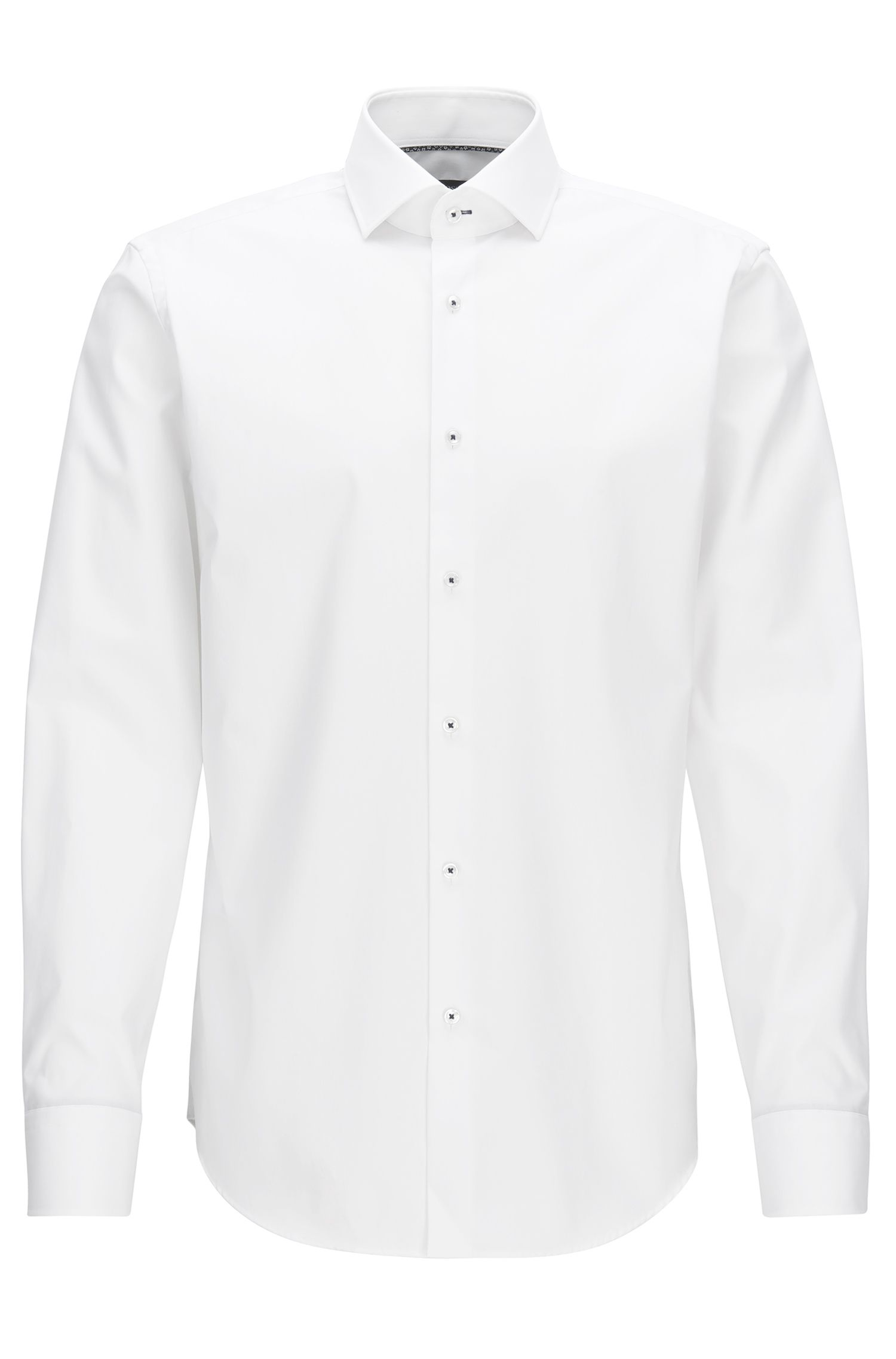 Easy-Iron Cotton Dress Shirt, Regular Fit | Glent