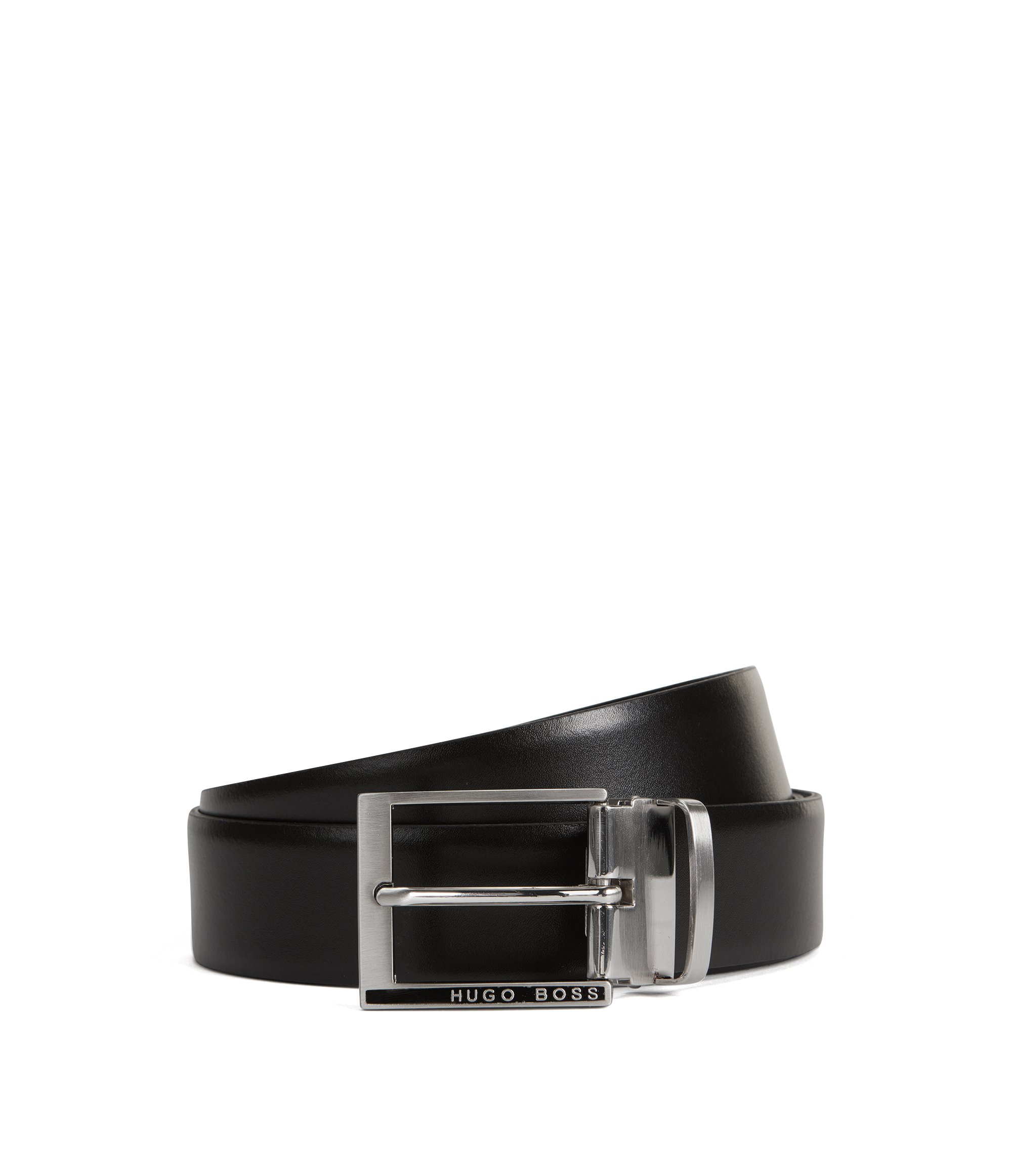 Leather Belt | Gim Gb35 Ps, Black