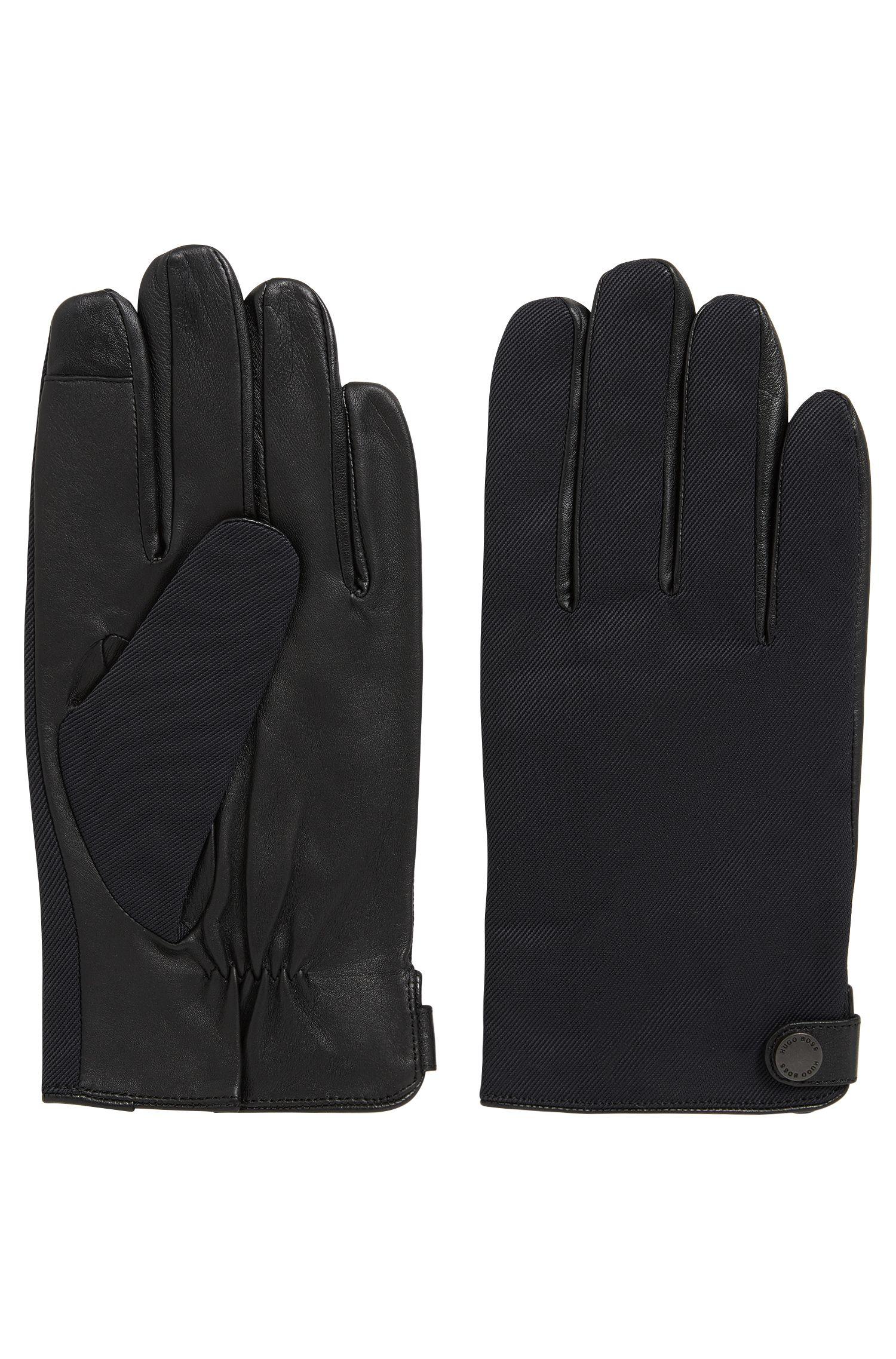 Nappa Leather & Wool Blend Tech Touch Glove | Helgan TT