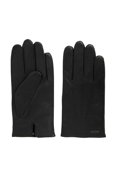 4e55a0a9c1a03d Nappa Leather Gloves | Hainz, Black