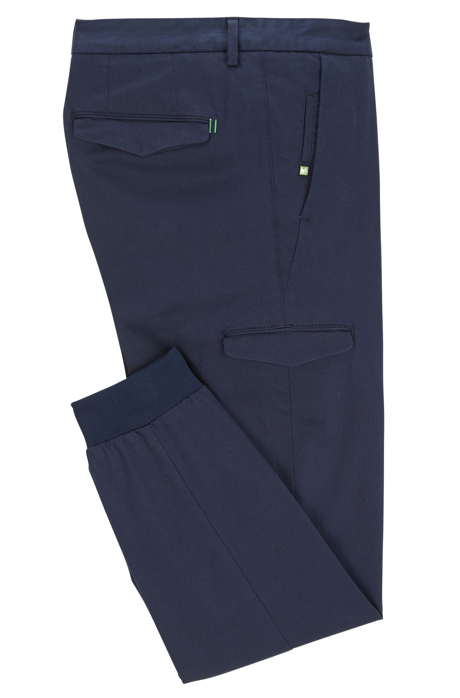 Cotton Cargo Pants, Slim Fit | Loomes W