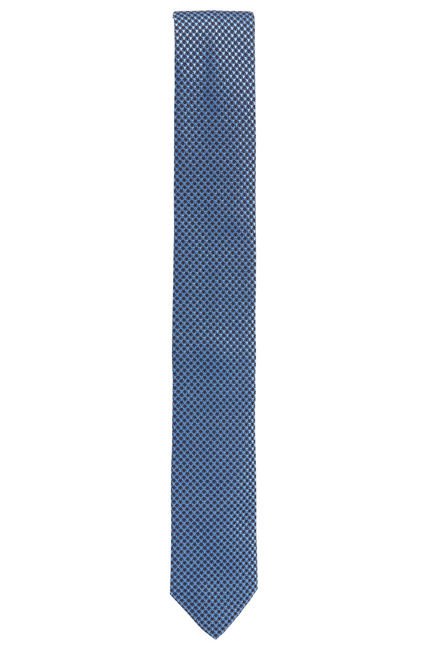 Dobby Italian Silk Slim Tie