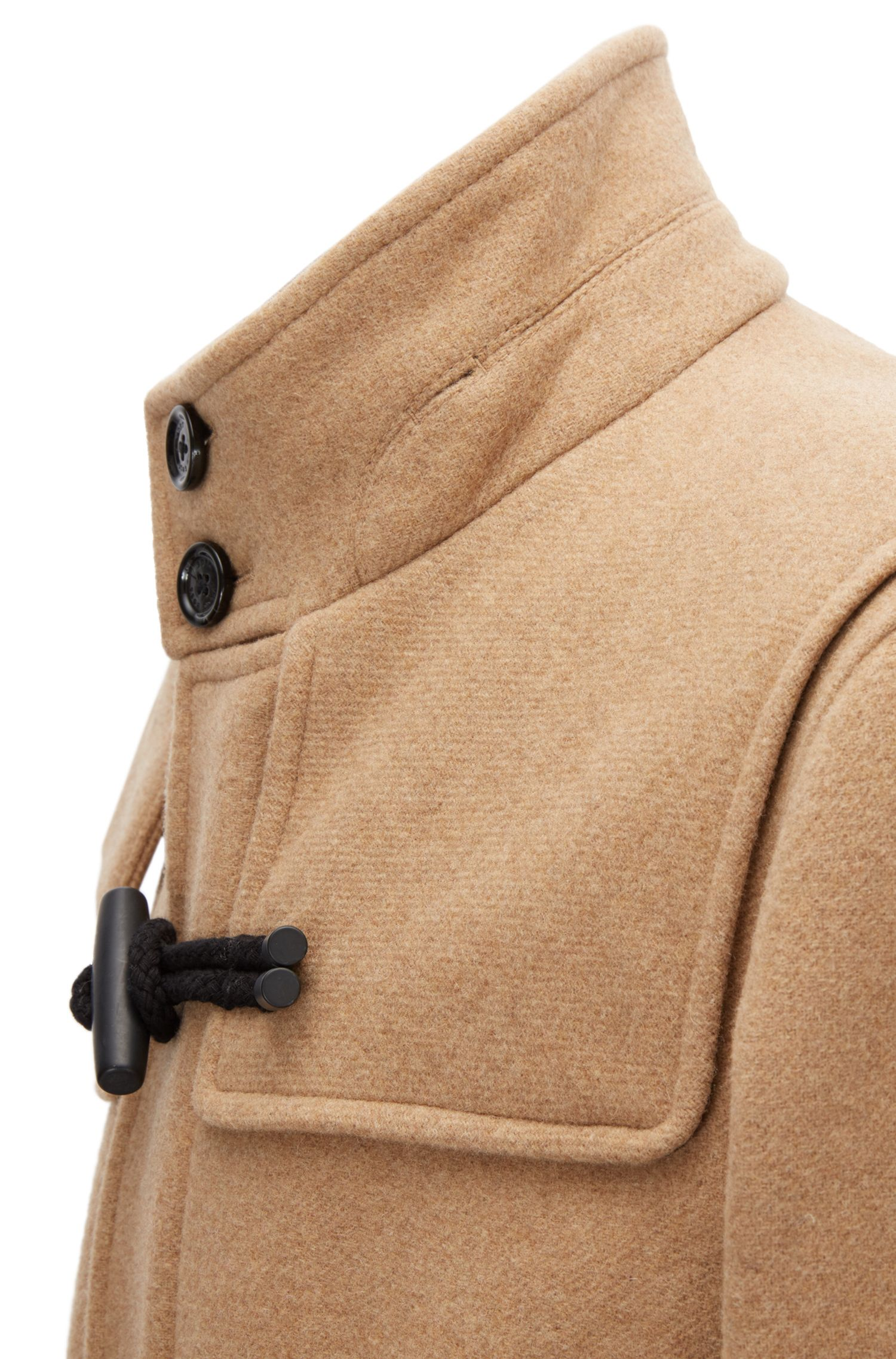 Wool Blend Duffle Coat | Chip