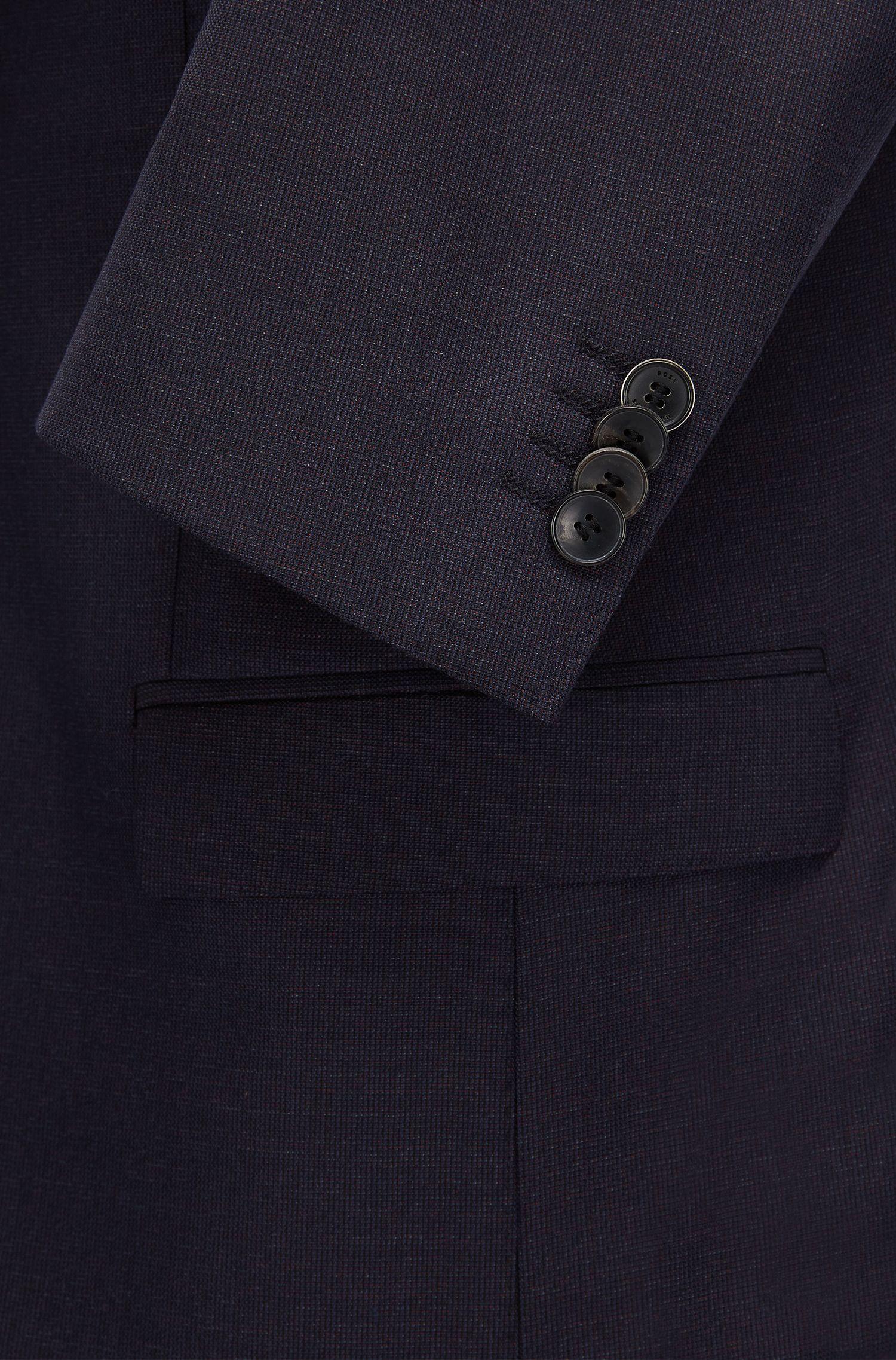 Italian Virgin Wool Suit, Extra Slim Fit | Reyno/Wave