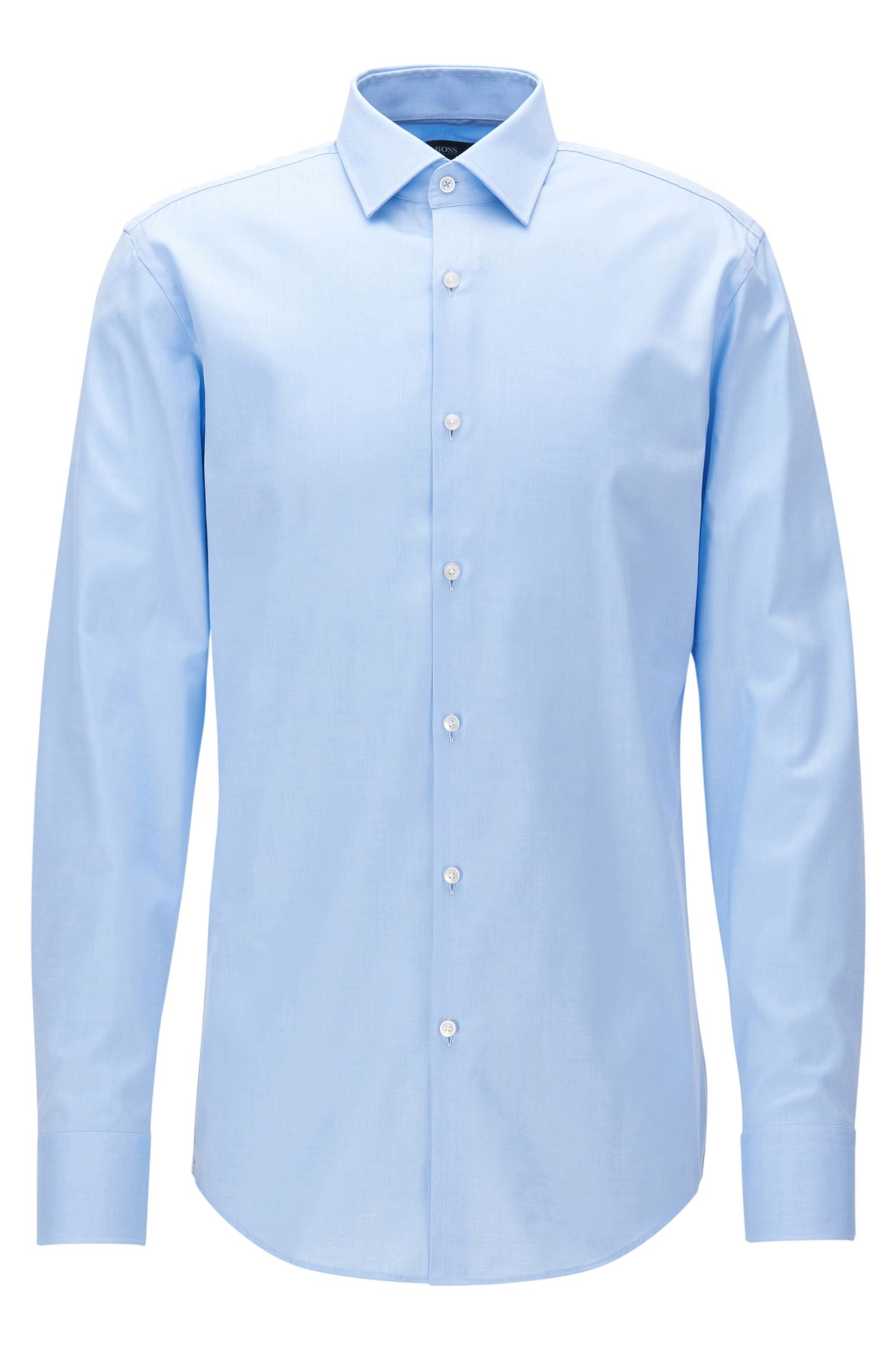 Cotton Dress Shirt, Slim Fit  | Jerris
