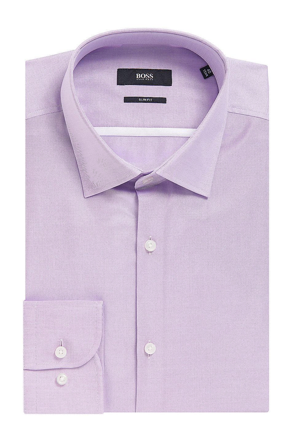 18af58b78 Cotton Dress Shirt, Slim Fit | Jerris