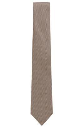 Italian Silk Tie, Beige